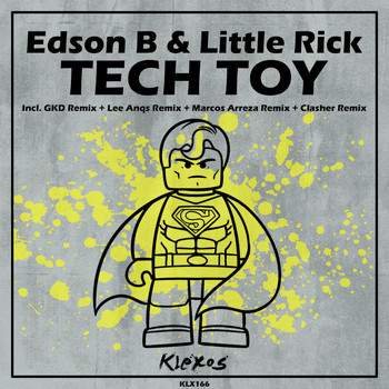 Edson B, Little Rick - Tech Toy EP