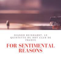 Django Reinhardt, Le Quintette du Hot Club de France - For Sentimental Reasons