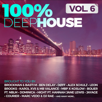 Various Artists - 100% Deep House, Vol. 6