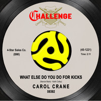 Carol Crane - What Else Do You Do for Kicks