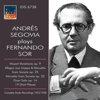 Andrés Segovia - Sor: Works for Guitar