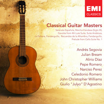 Various Artists - Classical Guitar Masters