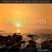 Tmsoft's White Noise Sleep Sounds - Wave Sounds for Sleep and Relaxation Volume 1