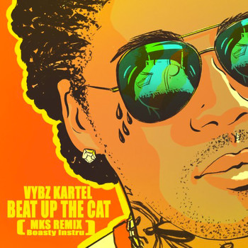 Vybz Kartel - Beat up the Cat (MKS Remix Boasty Instru [Explicit])