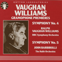 Ralph Vaughan Williams - Vaughan Williams Gramophone Premieres