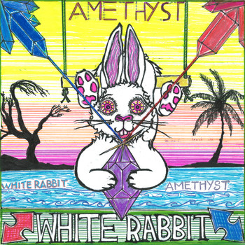 White Rabbit - Amethyst