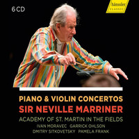 Ivan Moravec / Academy of St. Martin in the Fields / Garrick Ohlson / Dmitry Sitkovetsky - Piano & Violin Concertos - Sir Neville Marriner - Academy of St. Martin in the Fields