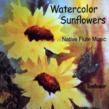 Sunflower - Watercolor Sunflowers