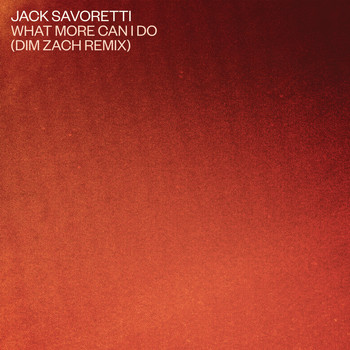 JACK SAVORETTI - What More Can I Do? (Dim Zach Remix)