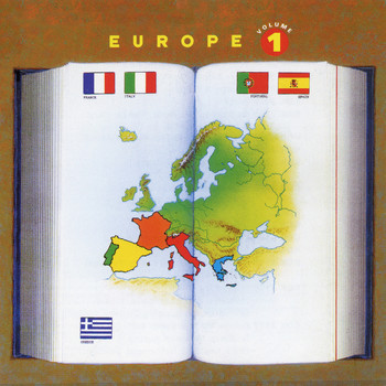 Various Artists / - Europe Vol. 1: France, Italy, Portugal, Spain, Greece