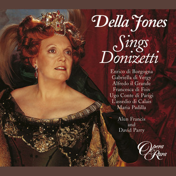 Della Jones, David Parry, Alun Francis - Della Jones Sings Donizetti
