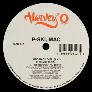 P-Ski, Mac - Ordinary Girl / U a Hoe (Explicit)