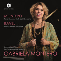 "Gabriela Montero / The Orchestra of the Americas / Carlos Miguel Prieto - Gabriela Montero: Piano Concerto No. 1 ""Latin"" - Ravel: Piano Concerto in G Major, M. 83 (Live)"