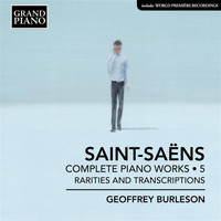 Geoffrey Burleson - Saint-Saëns: Complete Piano Works, Vol. 5