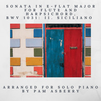 Pam Asberry - Sonata in E-Flat Major for Flute and Harpsichord, BWV 1031: II. Siciliano (Arr. for Solo Piano)