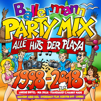 Various Artists - Ballermann Party Mix (Alle Hits der Play - 1998-2018 [Explicit])