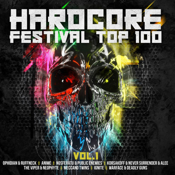 Various Artists - Hardcore Festival Top 100, Vol. 1 (Explicit)
