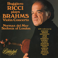 Ruggiero Ricci - Brahms: Violin Concerto in D Major, Op. 77 (with 16 cadenzas) – Ricci, del Mar, Sinfonia of London