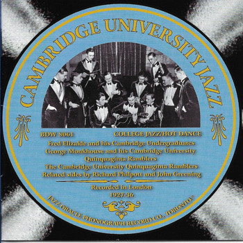 Various Artists - Cambridge University Jazz
