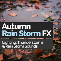 Lighting, Thunderstorms & Rain Storm Sounds - Autumn Rain Storm FX