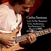 Carlos Santana - Cloud Nine - Live At The 'Bammies' Civic Auditorium, San Francisco, CA. March 3rd 1988, KFOG-FM Broadcast (Remastered)