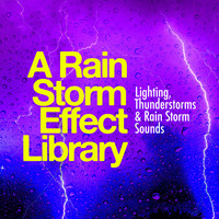 Lighting, Thunderstorms & Rain Storm Sounds - A Rain Storm Effect Library