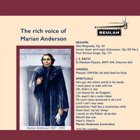 Marian Anderson - The Rich Voice of Marian Anderson