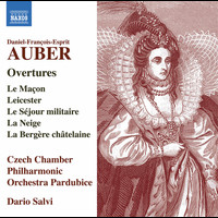 Czech Chamber Philharmonic Orchestra Pardubice / Dario Salvi - Auber: Overtures & Other Works