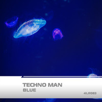 Techno Man - Blue