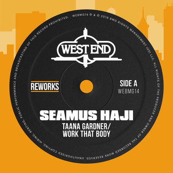 Taana Gardner - Work That Body (Seamus Haji Reworks)