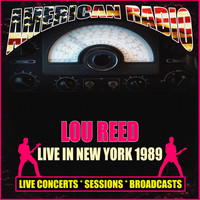 Lou Reed - Live in New York 1989 (Live)