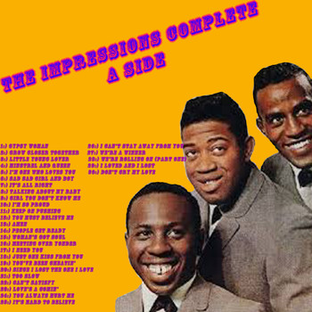 The Impressions - The Impressions Complete a Side
