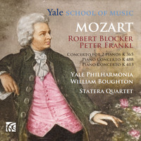 Robert Blocker & Peter Frankl - Mozart: Piano Concertos