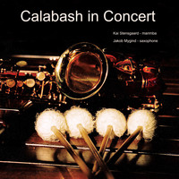 Kai Stensgaard & Jakob Mygind - Calabash in Concert. Marimba & Saxophone Duo with Music Inspired from Classical Music and Jazz Music.
