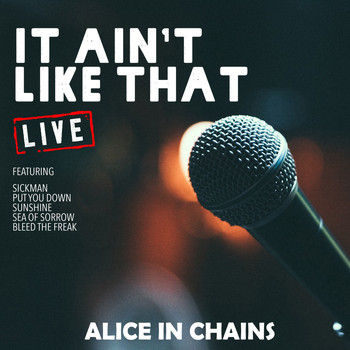 Alice In Chains - It Aint Like That (Live)