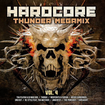 Various Artists - Hardcore Thunder Megamix, Vol. 4 (Explicit)