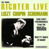 Sviatoslav Richter - The Young Richter Live - Liszt, Chopin, Schumann (Live)