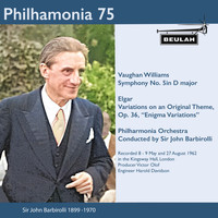 Sir John Barbirolli - Philharmonia 75 Sir John Barbirolli