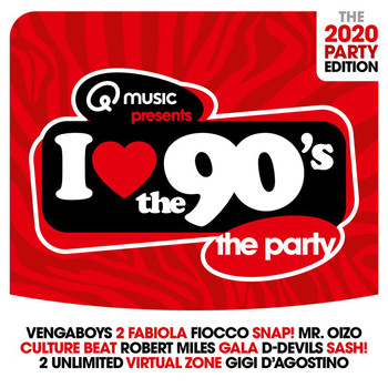 Various Artists - I Love The 90's - The 2020 Party Edition (Explicit)