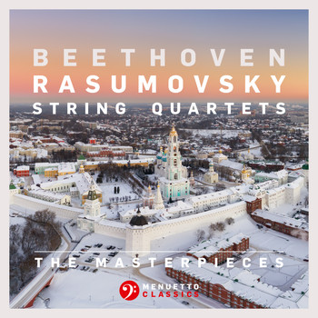 "Fine Arts Quartet - The Masterpieces, Beethoven: String Quartets Nos. 7, 8 & 9, Op. 59 ""Rasumovsky"""