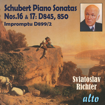Sviatoslav Richter - Schubert: Piano Sonatas Nos. 16 and 17 – Richter