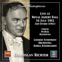Sviatoslav Richter - Piano Masterpieces: Sviatoslav Richter Live at Royal Albert Hall, 16th July 1961 and in Studio