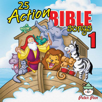 Nashville Kids' Sound - 25 Action Bible Songs 1 (feat. Twin Sisters)