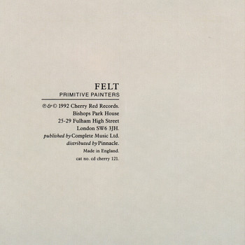 Felt - Primitive Painters