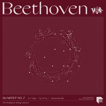 "The Budapest String Quartet - Beethoven: Quartet No. 7 in F Major, Op. 59 No. 1 ""Rasoumovsky"""