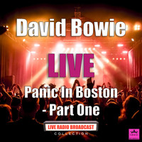 David Bowie - Panic In Boston - Part One (Live)
