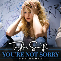 Taylor Swift - You're Not Sorry (CSI Remix)