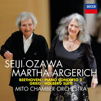 Martha Argerich - Beethoven: Piano Concerto No. 2; Grieg: Holberg Suite