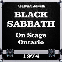 Black Sabbath - On Stage Ontario 1974 (Live)