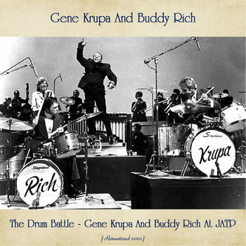 Gene Krupa - The Drum Battle - Gene Krupa And Buddy Rich At JATP (Remastered 2020)